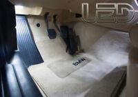 BMW F30 F31  2 Ampoules LED Pieds Sols Tapis plancher 316 318 320 325 328 330 33