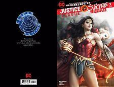 Justice League vs Suicide Squad #1 Legacy Edition Artgerm Color Variant