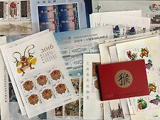 CHINA 2016-1 2016-33 小版 Whole Year FULL Mini S/S x 17 + Booklet  Yellow Monkey