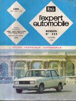 RTA revue technique l'expert automobile n ° 225 LADA 1200 1300 1500 s