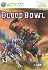 NEW Blood Bowl  (Xbox 360, 2010) U.S. Version NTSC