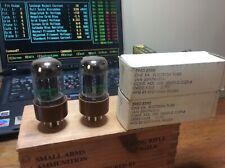 6SN7WGTA Sylvania NOS Matched Pair Tubes Tested 6SN7