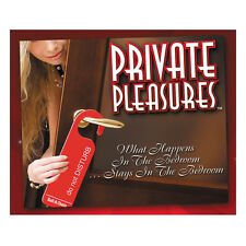 Private Pleasures | Adult Couples Sex Game | Naughty Saucy Fun Role Play
