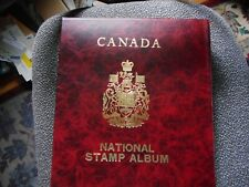 ALBUM & 100 CANADIAN FIRST DAY COVERS