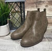 New Kim Rogers Praya Zip Up Ankle Booties Size 7.5 Medium