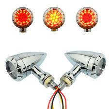 Motorcycle LED Bullet Turn Signal Brake Running Tail Lights Lamp bright Unversal