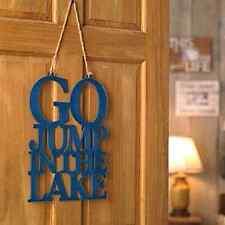 Summer House Cottage Lake house Lakehouse Wall Door Hanger Lake Funny Decoration