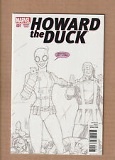 HOWARD THE DUCK #2 FOWLER GWENPOOL B/&W 2ND PTG VARIANT SECOND PRINT NEW 1