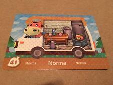 Nintendo Animal Crossing Welcome Amiibo New Leaf RV US Version Card #41 Norma SP