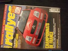 ** Rallyes magazine n°123 Turquie / Les pneumatiques / Portugal il y'a 30 ans