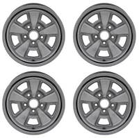 OER R3045 15 X 7 5 Spoke Steel Wheel Set 1970-1981 Chevrolet Chevelle Camaro Z28