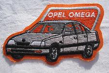 Opel Omga Aufnäher Patch 6 x 10 cm NEU (A49v)