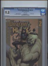 Ultimate Wolverine vs Hulk #2 CGC 9.8 Iron Man Cameo