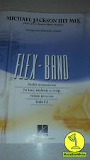 Michael Jackson Hit Mix scored for Flex Band [concert band music]