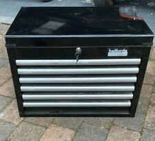 Halfords Black Tool Chest - No Reserve