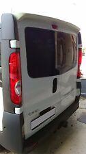 Spoiler for Vauxhall Vivaro/Renault Master 01-14 Barn Door Models (PU Plastic)