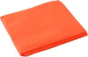 Rain Hooded Poncho, Waterproof Heavy Vinyl Reusable Emergency Adult Rain Coat