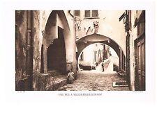 UNE RUE A VILLEFRANCHE-SUR-MER photo 1934