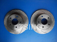 2 x Fits Holden Commodore VR VS V6 V8 Front Disc Rotors Slotted & Drilled 289mm