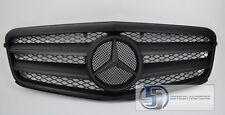2010 2011 W212 Mercedes E Class E350 E550 Grill grille Matte Black 100%  AMG E63