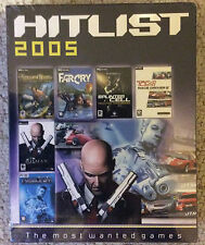 HITLIST 2005 - THE 6 MOST WANTED PC GAMES BRAND NEW SEALED