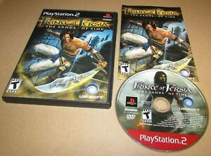 Prince of Persia: The Sands of Time Playstation 2 PS2 Complete Fast Shipping!