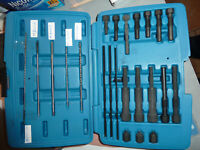 Kit extracteur électrode de bougie de préchauffage+ Forêt de 180 MM+ Porte tarau