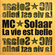 MC Solaar ‎CD Single La Vie Est Belle - Promo - France (M/EX)