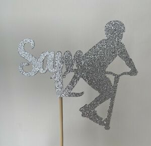 Personalised Scooter Cake Topper