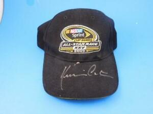 Nascar Autographed Hat From 2009 Sprint Cup  All Star Race Kevin Costner