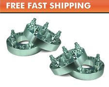 4 Pcs Wheel Adapters 5x5.5 to 5x5.5 ¦ Jeep Dodge Ram Ford Bronco Spacers 1""
