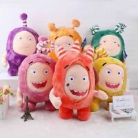 30CM Cuddly Oddbods Stuffed Plush Toy Newt Bubbles Pogo Zee Jeff Fuse Slick Gift