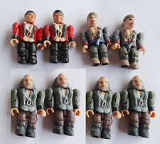 "Lot of 10 Mega Bloks Pirates of the Caribbean AT WORLDS END action figure 2/"" kj8"