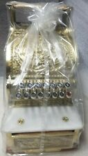 New National Cash Register 313 Brass Special Edition 100 Year Anniversary Nob