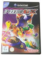 F-Zero GX Nintendo Gamecube PAL *Complete* Ex Rental