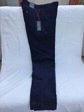 "Mens Fine Corduroy Trousers M&S Blue Harbour Navy Blue 36""W 33""L NEW WITH TAG"
