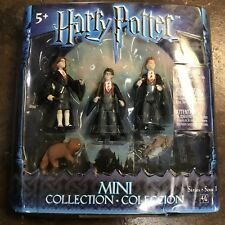 Harry Potter Magical Mini Collection Hermione Harry Ron 3 Pack Series 1 4/4 Rare