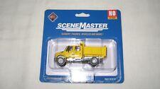 Walthers/Boley Ho International 4300 Crew Cab Dump Truck Yellow #949-11632