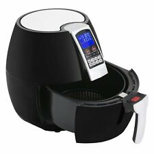 1500W Air Deep Fryer Electric Healthy Oil-Less 3.7 QT Cooking Food 8-in-1 -Black