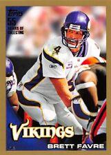 2010 Topps Gold #60 Brett Favre Vikings /2010