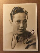 Ross Alexander Very Rare Early Autographed Photo Captain Blood Suicide '37 at 29