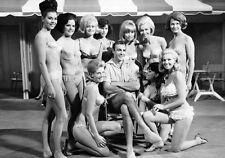 Movie PHOTO 8.25x11.75 James Bond 007 Goldfinger Sean Connery & Bond Girls 002