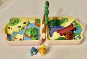 VTG Pokemon 1997 Nintendo Tomy Polly Pocket Mini Playset
