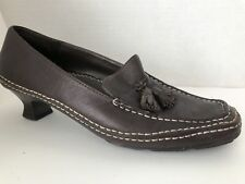 Aerosoles Shoes Womens Size 6 M Brown Kitten Heels Frontgate 6M Tassels