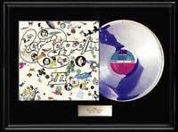 LED ZEPPELIN THREE III WHITE GOLD SILVER PLATINUM TONE RECORD VINYL LP RARE