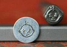 SUPPLY GUY 7mm Baby Face Metal Punch Design Stamp SG375-1, Made in the USA