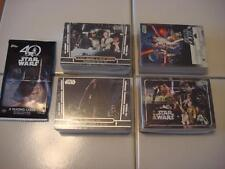 2017 Topps Star Wars 40th Anniversary Complete MASSIVE 200 CARD SET PLUS Wrapper