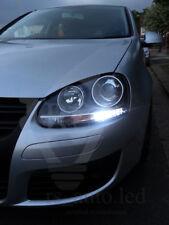 Bright Canbus LED Sidelights W5W T10 5 SMD White Bulbs VW GOLF 5 MK5 TDI GTI R32