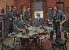 Gods And Generals, Antietam Leesburg VA Robert E Lee Military Civil War Postcard