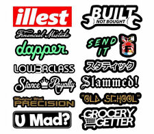 JDM 14 Car Sticker Decal Mega Pack Lot Tuner Low Funny Boost Drift Race Type2MWP